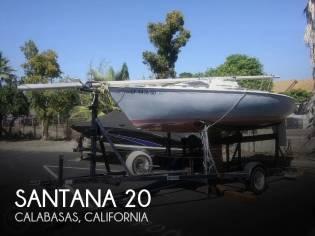 Santana 20 Trailerable Sloop