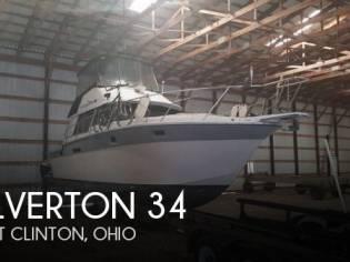 Silverton 34 Sedan Bridge Convertible