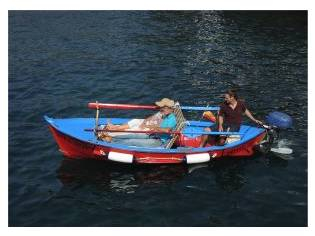 Barco Falua Chalana