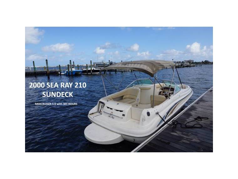 2000 Sea Ray 210 Sundeck in Florida | Power boats used 81005