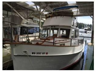 Grand Banks 32' trawler 1969
