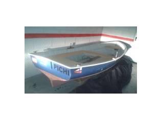 bote autoachicable + fueraborda