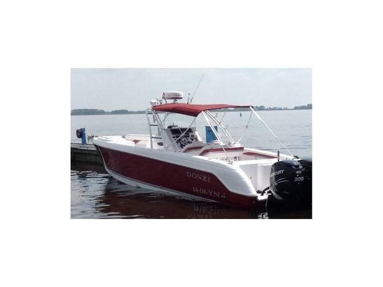 Donzi 38 zfx open in friesland day fishing boats used for Donzi fishing boats