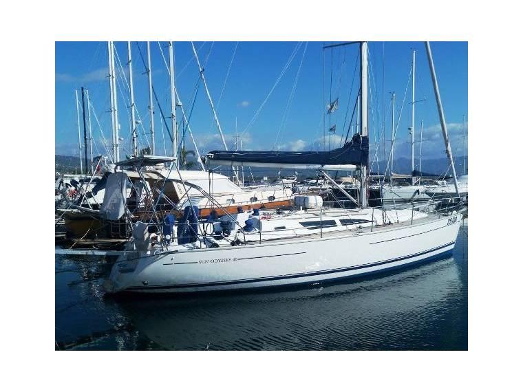Jeanneau Sun Odyssey 40 In Sicily Sailing Cruisers Used 25656