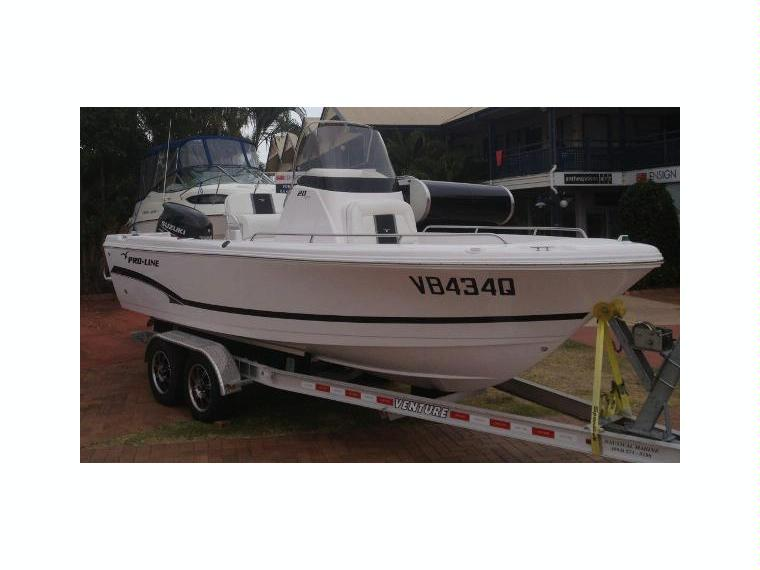 PROLINE 20 Sport Fisher in Queensland  Power boats used 51574