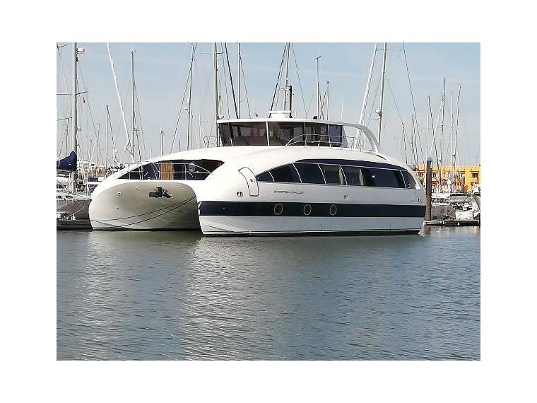 Custom Quad Jet Hydrofoil Catamaran in Portugal | Motor yachts used