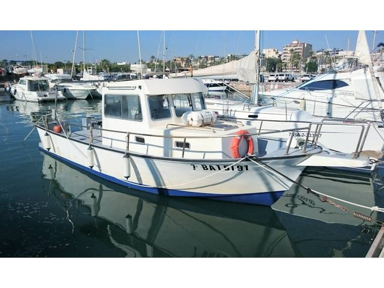 GRAND BANKS 32 PESCA in Port de Sitges | Fishing boats used