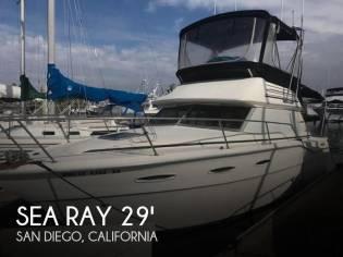Sea Ray SRV300 Sedan Bridge