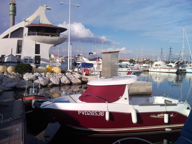 Arvor 215AS in Port Saint Gervais | Day fishing boats used 53656