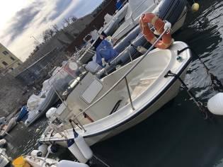Boston Whaler 17 Montauk in Tuscany | Open boats used 54995 - iNautia