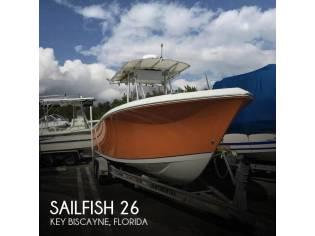 Sailfish 2660 Center Console