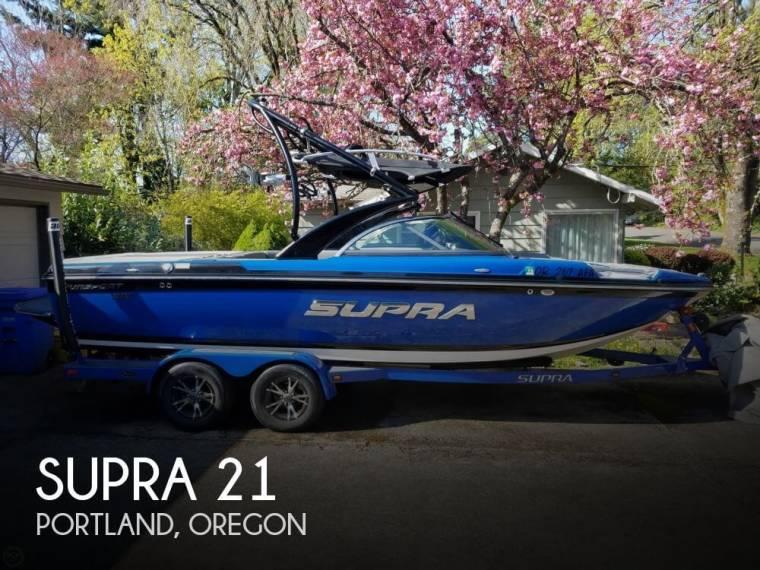 Supra Sunsport 21V in Florida | Speedboats used 57491 - iNautia