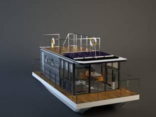 La Mare Houseboat Apartboat XXL