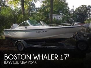 Boston Whaler Dauntless 17 Dual Console