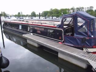 Canalcraft Cruiser Stern 58' Narrowboat