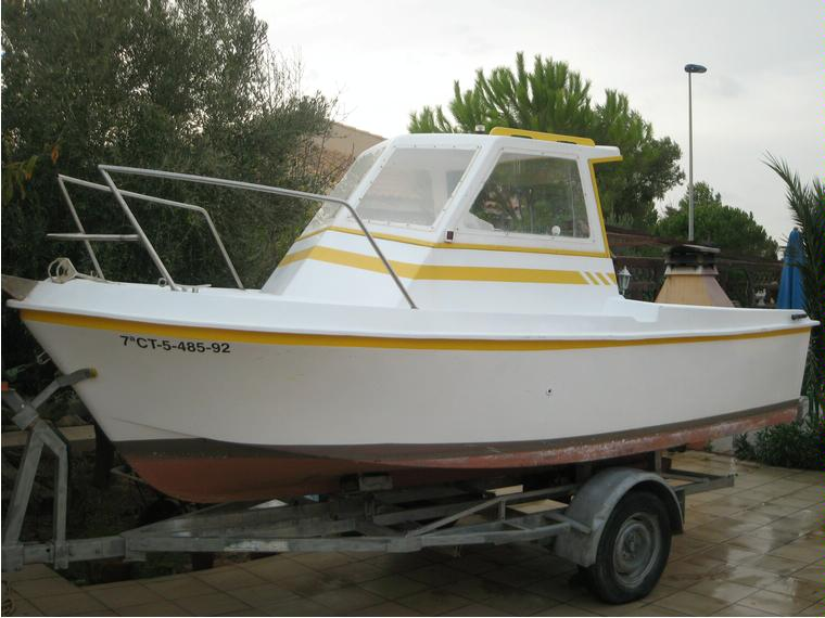 ARTABAN 485 in Pto. Dep. Los Nietos   Power boats used ...