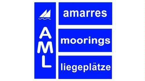 A.M.L  Amarres + Moorings + Liegeplätze AML logo