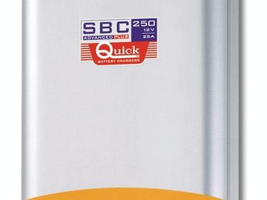CARGADOR DE BATERIA QUICK SBC ADVANCED-PLUS SBC 250 (25Amp. - 12V) Electricity