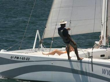 Rush 10 Catamaran sailboat