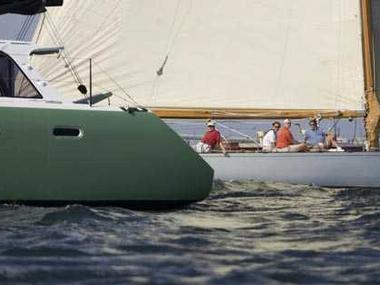 Gunboat 48 Catamaran sail