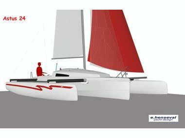 Astusboats Astus 24.1 Trimaran sail