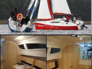 Nautiner 30S - versión de orza Single hull sailing