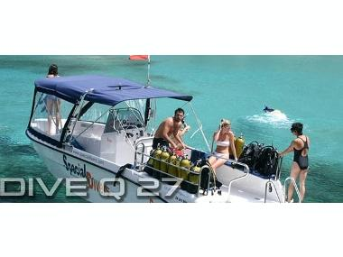 Quer 27 Dive Profesional Motor boat