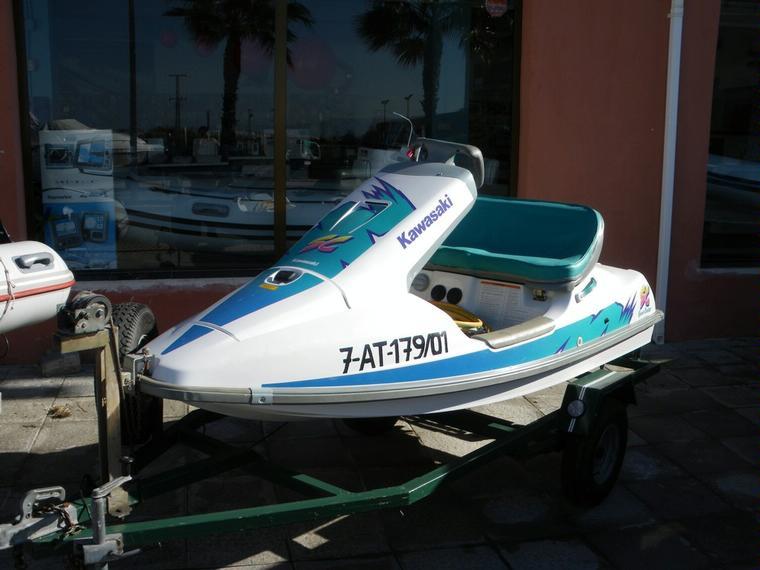 Kawasaki sc 650 in alicante power boats used 70576 inautia for Kawasaki outboard boat motors