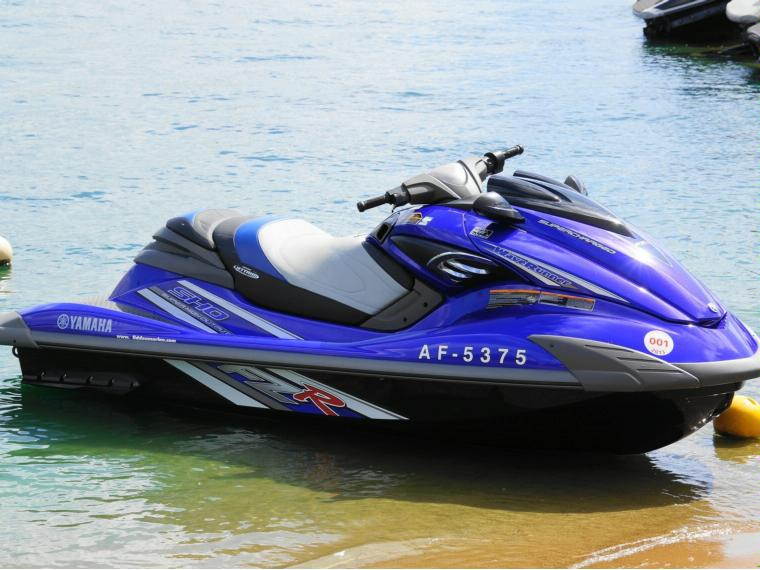 Yamaha Supercharged Boat