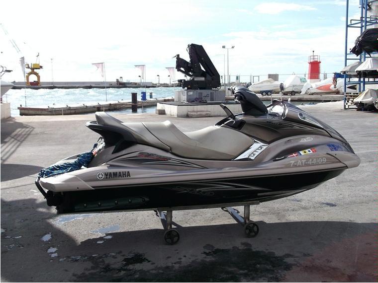 Yamaha fx sho cruiser in cn santa pola jet skis used for Yamaha fx jet ski