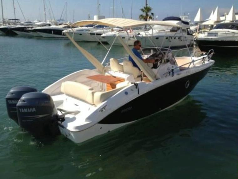 sessa marine key largo 27 in marina de denia power boats used 48516 inautia. Black Bedroom Furniture Sets. Home Design Ideas